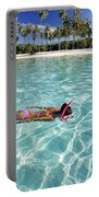 Snorkeling In Polynesia Portable Battery Charger