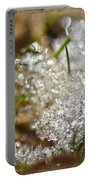 Snow And Ice Macro Portable Battery Charger