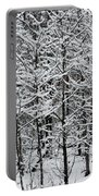 Snow Branches Portable Battery Charger