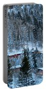 Snow Cabins Portable Battery Charger