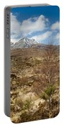 Snow Capped Sgurr Nan Fhir Duibhe Portable Battery Charger
