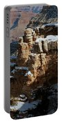 Snow Covered Grand Canyon Portable Battery Charger