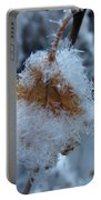 Snow Crystals Portable Battery Charger