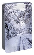 Snow Day Portable Battery Charger