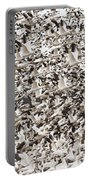 Snow Geese Blast Off Portable Battery Charger