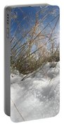 Snow Grass Portable Battery Charger