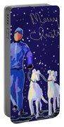 Snow Greys Portable Battery Charger