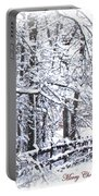 Snow-img-2174-merry Christmas Portable Battery Charger