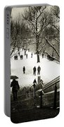 Snow In London Portable Battery Charger