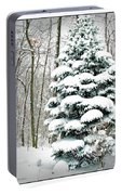 Snow In Ohio Portable Battery Charger