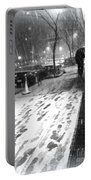 Snow In The City Portable Battery Charger