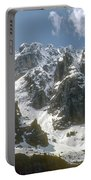 Snow In The Dolomites Portable Battery Charger