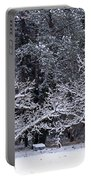 Snow In The Valley Portable Battery Charger