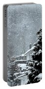 Snow Landscape Portable Battery Charger