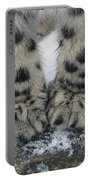 Snow Leopard Feet Portable Battery Charger
