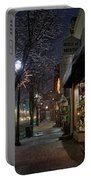 Snow On G Street 3 - Old Town Grants Pass Portable Battery Charger