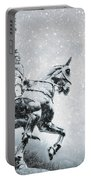 Snow On Joan Portable Battery Charger