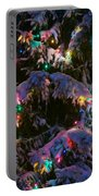 Snow On The Christmas Tree Portable Battery Charger