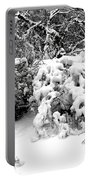 Snow Scene 1 Portable Battery Charger by Patrick J Murphy