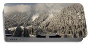 Snowbound Valley Portable Battery Charger