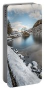Snowcapped Portable Battery Charger