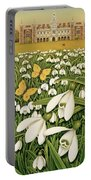 Snowdrop Day, Hatfield House Portable Battery Charger