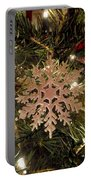 Snowflake Ornament Portable Battery Charger