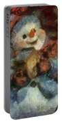 Snowman Photo Art 47 Portable Battery Charger