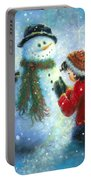 Snowman Song Portable Battery Charger