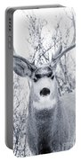 Snowstorm Deer Portable Battery Charger