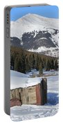 Snowy Cabins Portable Battery Charger