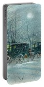 Snowy Carriages Portable Battery Charger