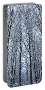 Snowy Forest Portable Battery Charger