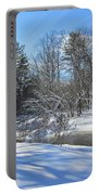 Snowy Otter Brook Portable Battery Charger