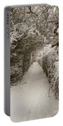 Snowy Path Portable Battery Charger