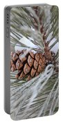 Snowy Pine Portable Battery Charger