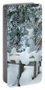 Snowy Wagner's Bridge Portable Battery Charger