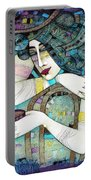 So Many Memories... Portable Battery Charger by Albena Vatcheva