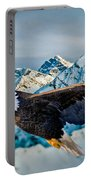 Soaring Bald Eagle Portable Battery Charger by Gary Keesler