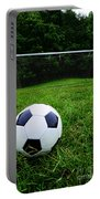 Soccer Ball On Field Portable Battery Charger