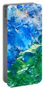 Sodium Thiosulphate Microcrystals Colorful Art Portable Battery Charger