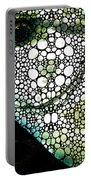 Sofishticated - Fish Art By Sharon Cummings Portable Battery Charger