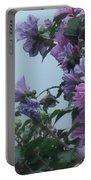 Soft Blues And Pink - Spring Blossoms Portable Battery Charger