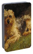 Soft Coated Wheaten Terrier  Portable Battery Charger