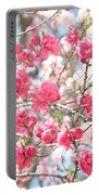 Soft Colors Of Spring Portable Battery Charger