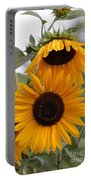 Soft Colors Sunflowers Portable Battery Charger