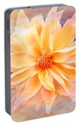 Soft Delightful Dahlia Portable Battery Charger