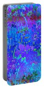 Soft Pastel Floral Abstract Portable Battery Charger