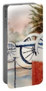 Softly Christmas Snow Portable Battery Charger by Kip DeVore