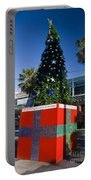 Solar Powered Christmas Tree Portable Battery Charger